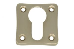 Euro cylinder escutcheon satin nickel. Price per piece