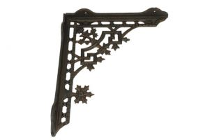 Shelf bracket cast iron 230x265mm (L×H),& 265x230mm (L×H)