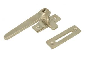 Window fastener reversible satin nickel (1915)
