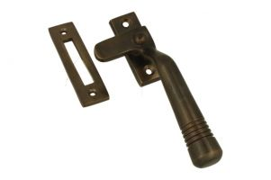 Window fastener (1915) antique brass left