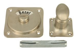 Vrij bezet turn and release spindle satin nickel
