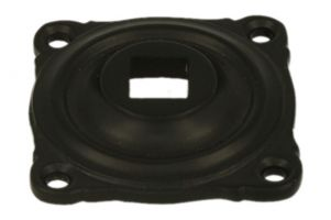 Square rosette for Bell pull set TB-11 z