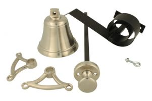 Bell pull set satin nickel (1928)