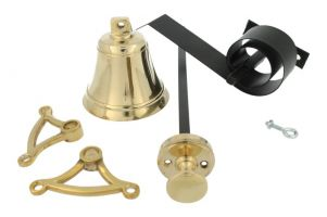 Bell pull set polished brass (1928)