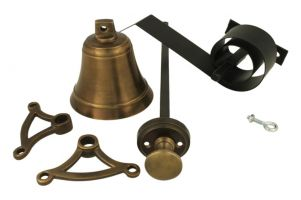 Bell pull set antique brass (1928)