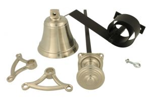 Bell pull set satin nickel