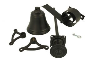 Bell pull set brass powder coated