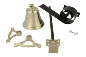 Bell pull set satin nickel (1932)