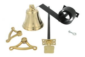 Bell pull set polished brass (1932)