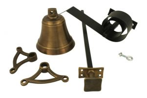 Bell pull set antique brass (1932)