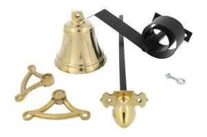 Bell pull set polished brass (1905)