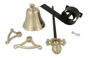 Bell pull set satin nickel (1900)