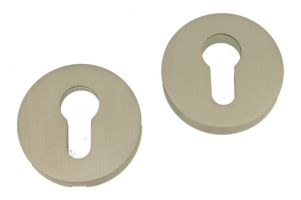 Safety-escutcheon satin nickel