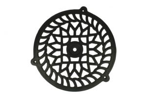 Cast iron air vent cover Ø250mm