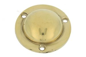 Cover escutcheon polished brass Ø 42mm height 13mm