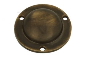 Cover escutcheon antique brass Ø 42mm height 13mm