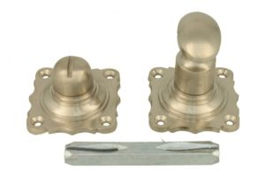 Turn and release spindle satin nickel 8mm spindle size