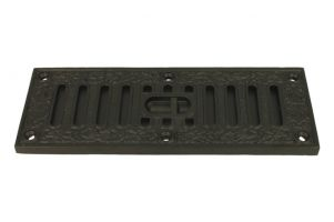 Cast iron air vent cover 225 x 85 x 10mm